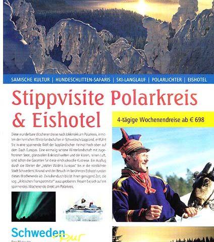 Stipvisite Polarkreis & Eishotel.