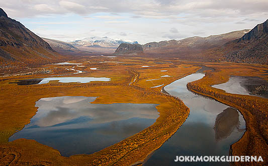 Rapadalen Sarek National Park