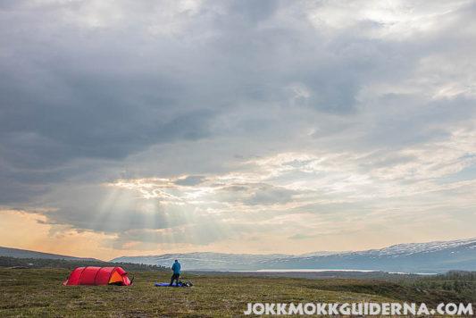 Nice camping spot in Sarek