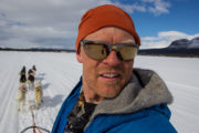 Guide Matti Holmgren at Jokkmokkguiderna, Sweden Lapland.