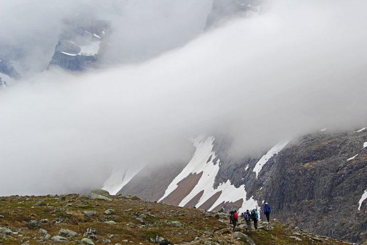 The Kings Trail. High alpine terrain.