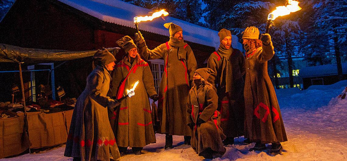 Vintermarknad historia Jokkmokks marknad